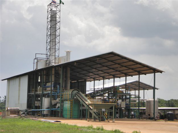 4T/H cassava starch production plant in Nigeria