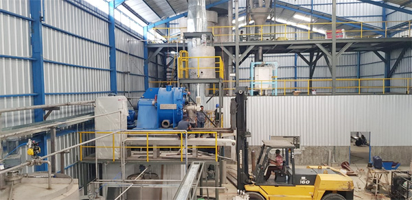 12t/h cassava starch production plant in Nigeria_project