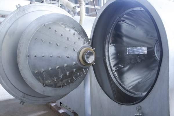 Centrifuge sieve for cassava processing machine