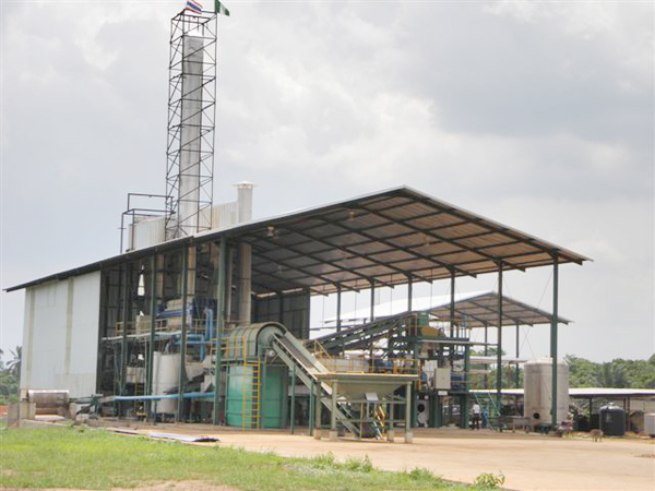 Small scale cassava starch processing plant
