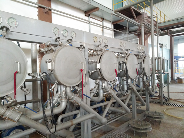 tapioca starch processing machinery