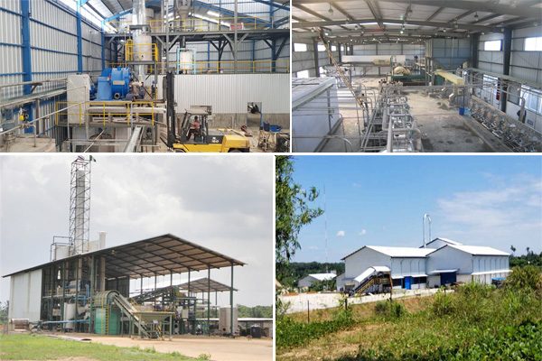 cassava starch production equipment in the world