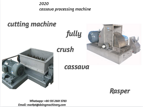 How to fully crush cassava in cassava processing line?