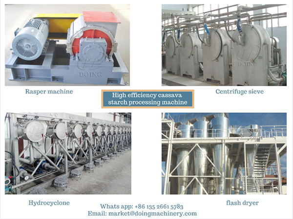 How to improve the efficiency of cassava starch processing plant?